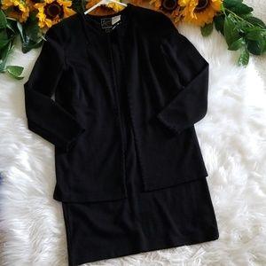 Nina Leonard Lennie 2PC Cardigan Dress Set